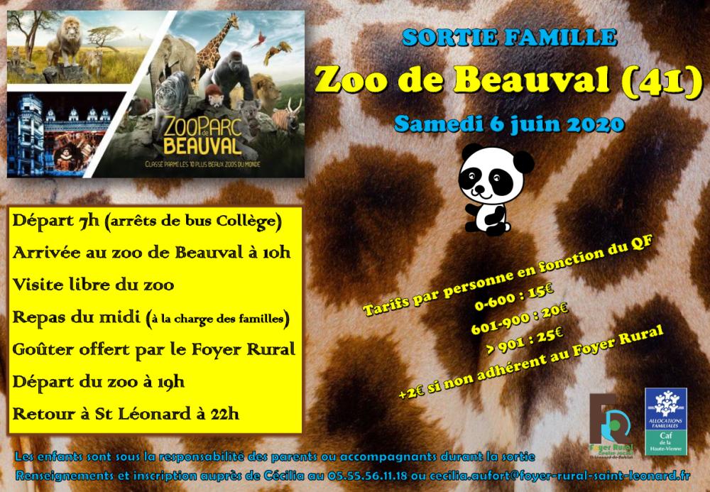 SORTIE FAMILLE ZOO DE BEAUVAL @ ZOO DE BEAUVAL
